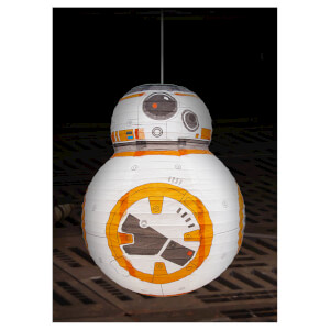 Star Wars BB-8 Paper Shade - White/Orange/Grey: Image 1