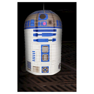 Star Wars R2-D2 Paper Shade - White/Blue: Image 1