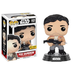 Star Wars Episode VII Poe Dameron (Resistance) Limited Edition Pop! Vinyl Figure Bobblehead