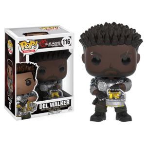 Figura Funko Pop! Del Walker - Gears of War