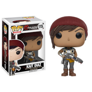 Figura Pop! Vinyl Kait Diaz (con arma) - Gears of War
