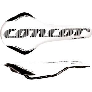 Selle San Marco Concor Dynamic Saddle - White/Black
