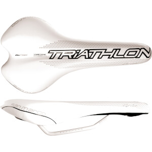 Selle San Marco Era Dynamic Triathlon Mag Rail Saddle - White