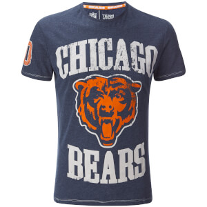 NFL Men's Chicago Bears Logo T-Shirt - Navy