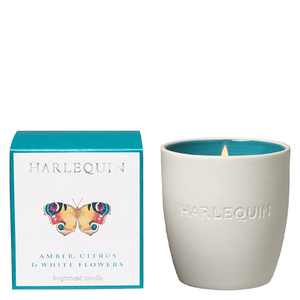 Harlequin Papilio Amber Citrus and White Flower Tumbler Candle