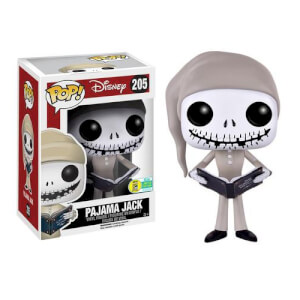 Disney The Nightmare Before Christmas Pajama Jack Skellington Pop! Vinyl Figure SDCC 2016 Exclusive