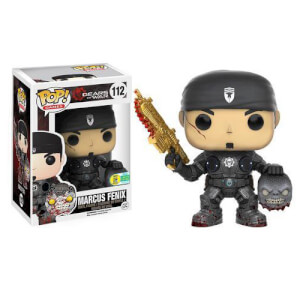 Gears of War Marcus Fenix with Head (Golden Lancer) Funko Pop! Vinyl SDCC 2016 Exclusive