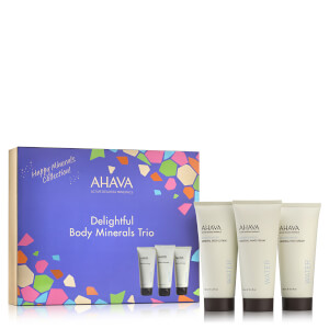 AHAVA Happy Minerals Body Trio