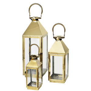 Broste Copenhagen Frit Outdoor and Indoor Lanterns (Set of 3)