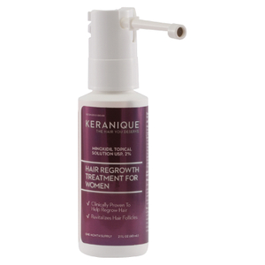 Keranique Hair Regrowth Treatment with Extended Nozzle Sprayer