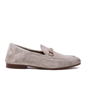 H Shoes by Hudson Women's Arianna Suede Loafers - Taupe