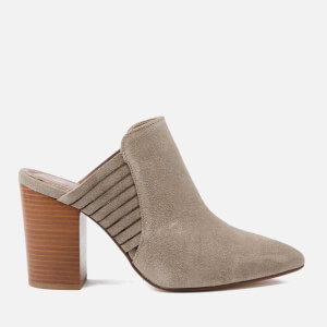 Hudson London Women's Audny Suede Heeled Mules - Taupe
