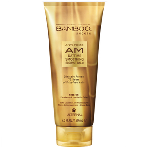 Bálsamo Bamboo Smooth Anti-Frizz AM Daytime Smoothing Blowout da Alterna (150 ml)