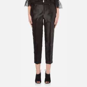 Three Floor Women's Laurent High Rise Tapered Leg Trousers - Black