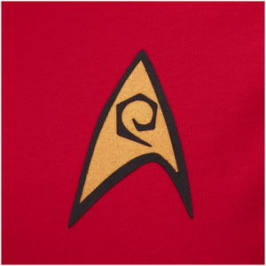 Star Trek Men's Command Uniform T-Shirt - Red: Image 3