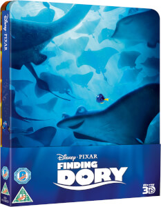 Finding Dory 3D (Includes 2D Version) - Zavvi Exclusive Limited Edition Steelbook (UK EDITION)