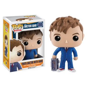 Doctor Who 10th Doctor with Hand Funko Pop! Figuur