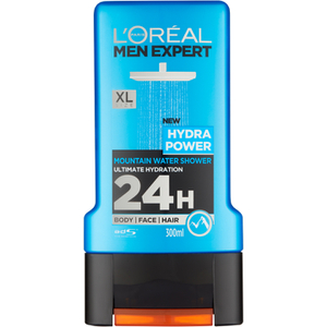 Gel de Banho Men Expert Hydra Power da L'Oréal Paris 300 ml