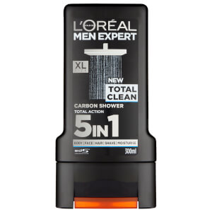Gel de Banho Men Expert Total Clean da L'Oréal Paris 300 ml