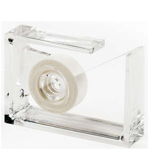 Lexon Roll Air Tape Dispenser - Clear