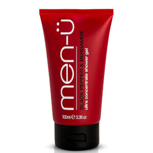 men-u Black Pepper & Bergamot Shower Gel 100ml