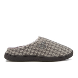 Dunlop Men's Absolon Check Slippers - Grey