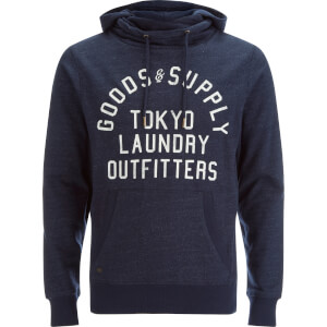 Tokyo Laundry Men's Franklin Valley Hoody - Dark Navy