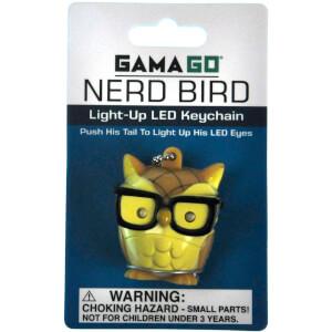 Porte-Clefs Lumineux Nerd Bird LED