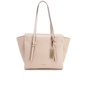 Calvin Klein Women's M4Rissa Medium Tote Bag - Mushroom