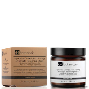 Dr Botanicals Japanese Orange Fast Acting Overnight Restoring Mask 50ml