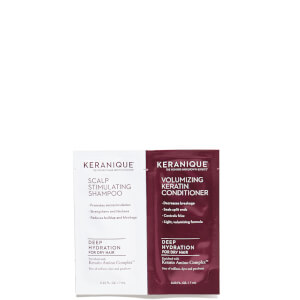 Keranique Deep Hydration Shampoo and Conditioner (Free Gift) (Worth $4)
