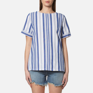 A.P.C. Women's Circe Top - Blue
