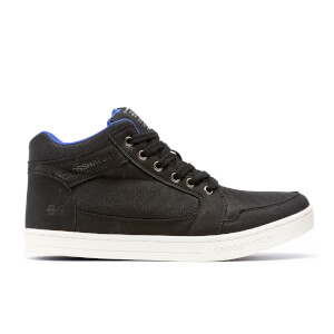 Crosshatch Men's Ryders High Top Trainers - Black