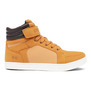 Crosshatch Men's Ryders Mid Top Trainers - Cathay Spice