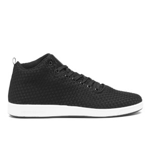 Crosshatch Men's Blythe High Top Trainers - Black