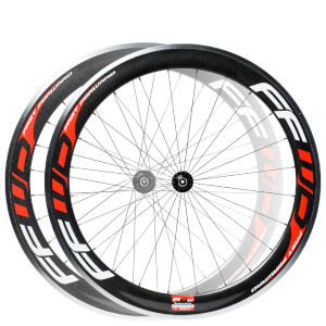 Fast Forward F6C Carbon/Alloy 24/28 Spoke Clincher Wheelset