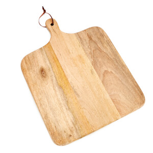 Nkuku Chunni Mango Wood Square Chopping Board 45 x 34.5cm