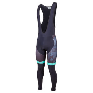 Bianchi Bolgare Bib Tights - Black/Green