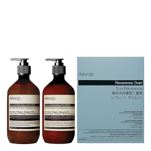Aesop Reverence Exfoliating Duet (Worth $142)