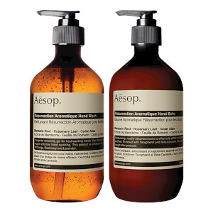 Aesop Resurrection Hand Cleanser and Balm Duet: Image 2