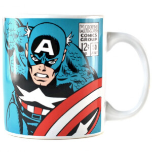 Marvel Captain America Logo Mug