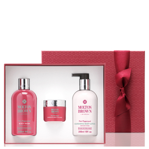 Molton Brown Fiery Pink Pepper Pampering Body Gift Set (Worth £55.00)