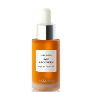 Aceite facial orgánico Superseed Age Recovery de MÁDARA 30 ml