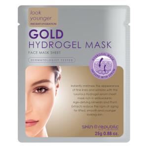 Máscara de Hidrogel Facial Gold Hydrogel da Skin Republic 25 g