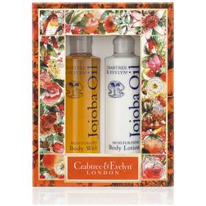 CRABTREE & EVELYN JOJOBA BODY CARE DUO