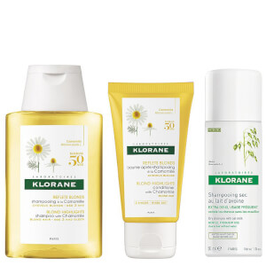 Klorane Sunshine Blond Routine
