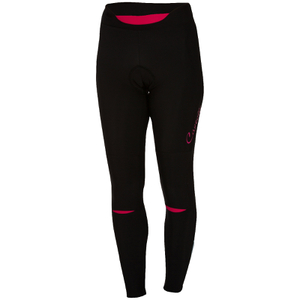 Castelli Women's Chic Tights - Black/Raspberry