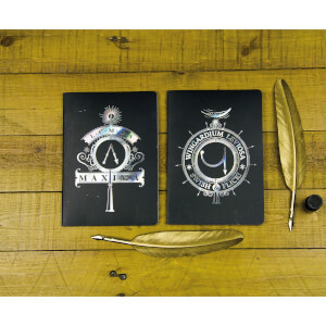 Harry Potter Notebooks (Set of 2)