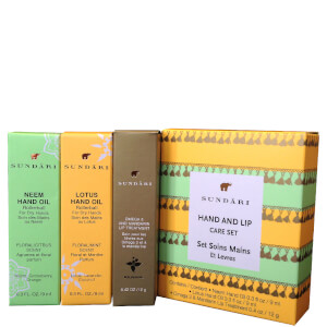 Sundari Hand and Lip Care Set