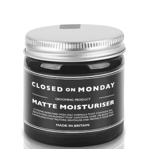 Closed on Monday Matte Moisturiser 60ml